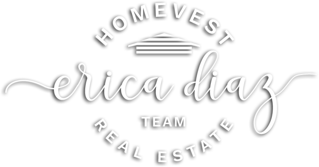 Erica Diaz Real Estate Logo in White