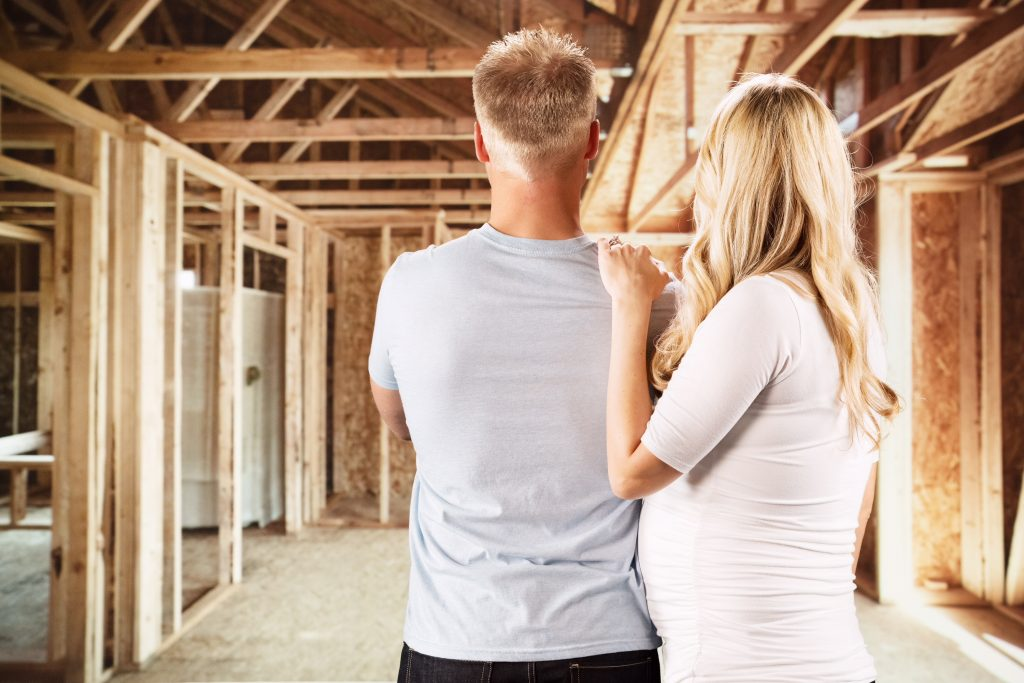 use a real estate agent during a new build home