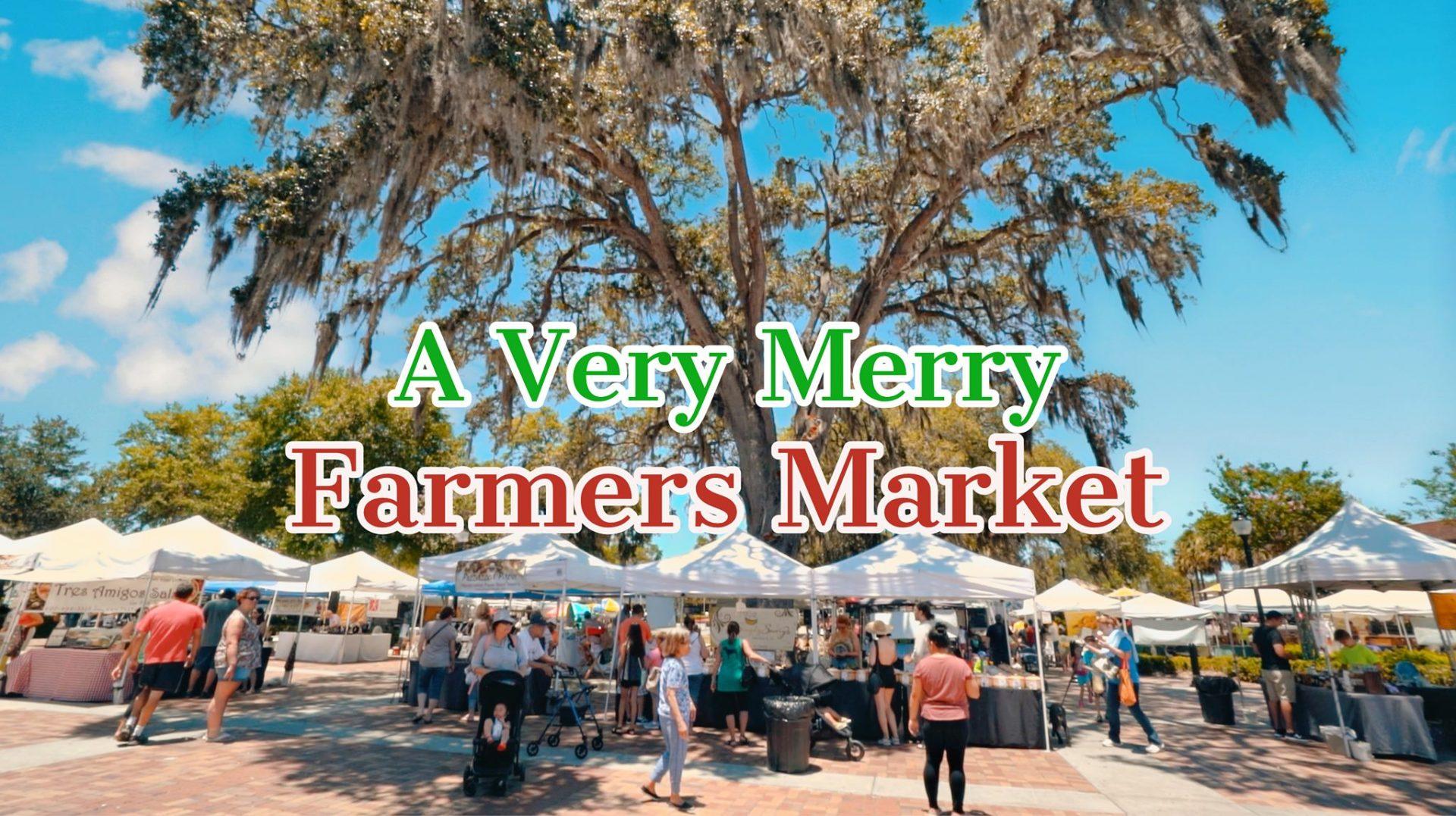 a very merry farmers market
