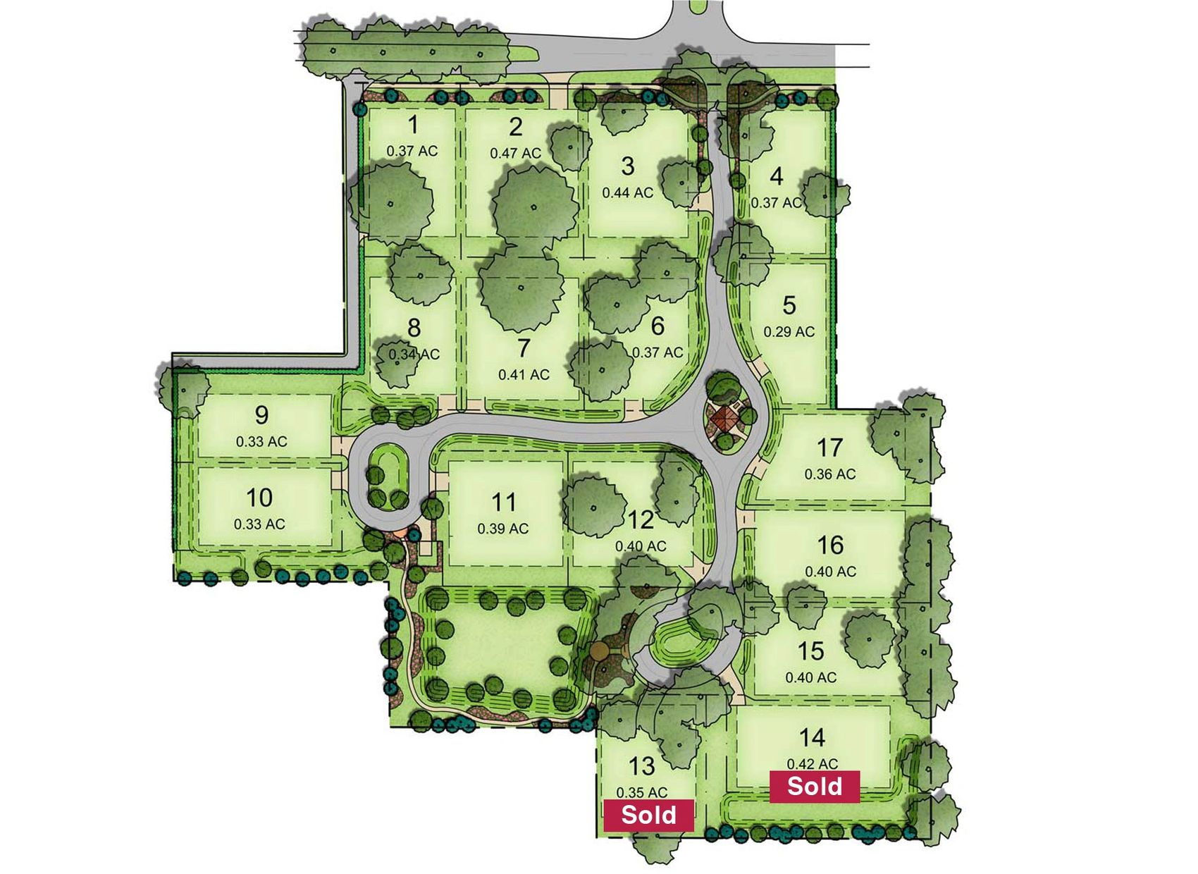 Oakland hills lots available