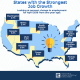 States with the strongest job growth 2019