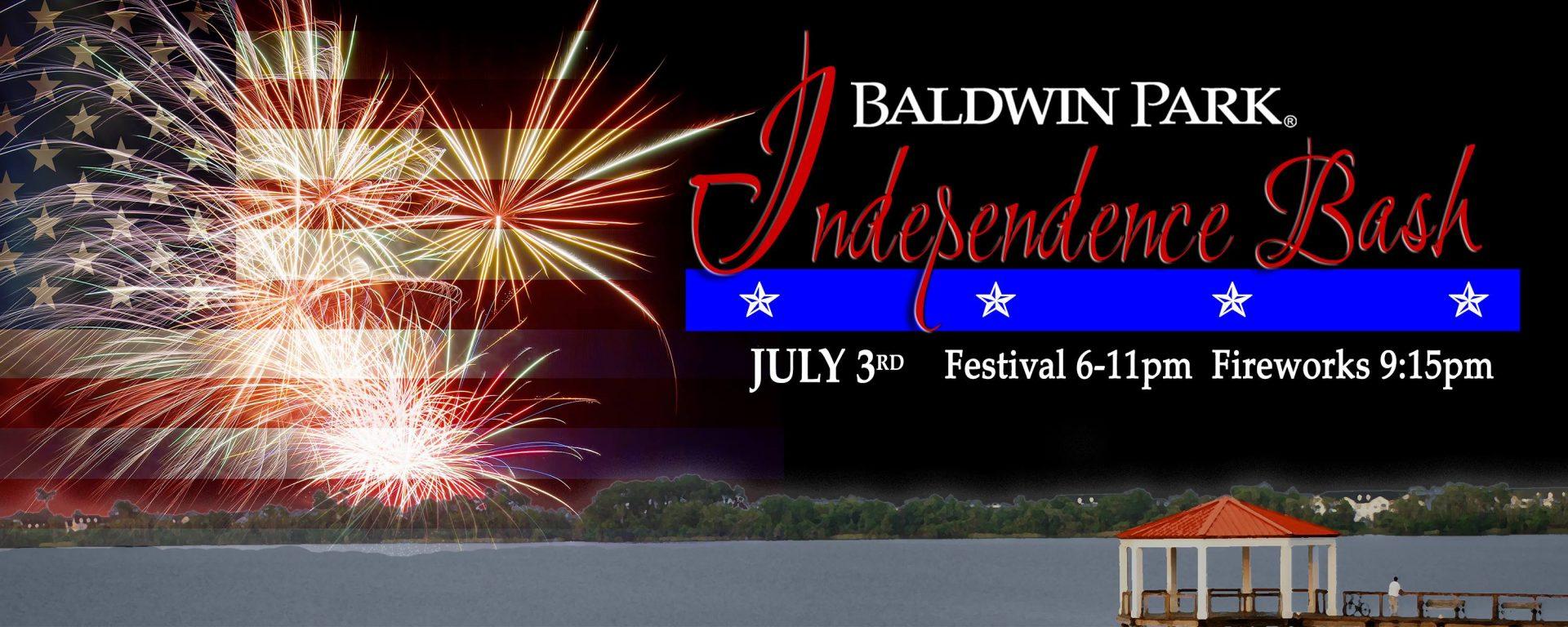 Baldwin Park 4th of July celebration