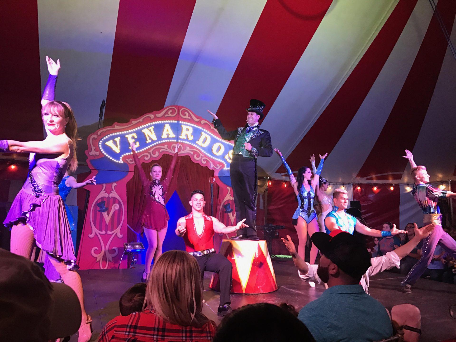 venardos circus opening