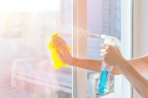 clean glass surfaces