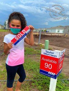 New construction communities sold plot