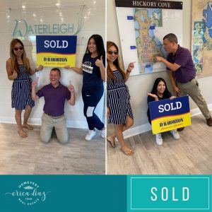 Sold new construction communities home in waterleigh