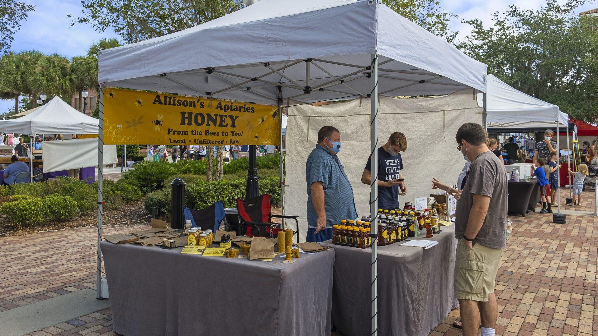 honey vender